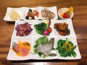 9種のお惣菜プレート